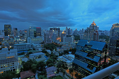 Bangkok Skyline (khita k) Tags: bangkok thailand skyline view city