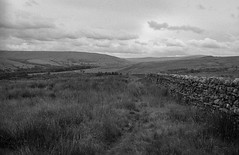Pennine way day five - Greenhead to Alston (ronet) Tags: 35mm pentaxmz5n bw blackwhite blackandwhite day5 diydeveloped film homedeveloped ilford ilforddelta100 ilfotecddx maidensway northumberland pennineway pennines utata