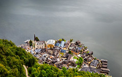 Hallstatt. View from above (SkyBlue Photography Pro) Tags: ifttt 500px hallstatt gmunden hallstattersee lee filters big stopper canon 70 200 28 obertraun dachstein austrai austria oostenrijk ostenreich hallstttersee lake see meer aerial above view city scene from hoher krippenstein long exposure salzkammergut