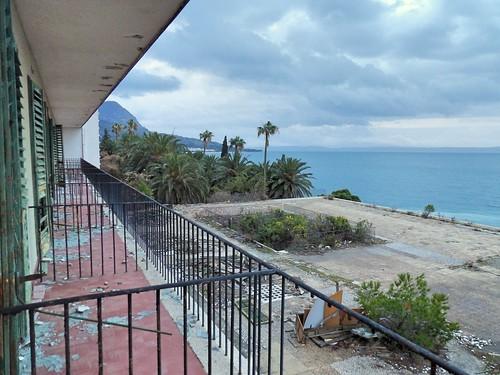 La vue depuis les balcons des chambres