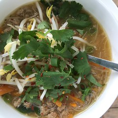 September 13 #dailylunches - ginger noodle soup (fishbowl_fish) Tags: lunch dailylunches leftovers