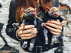 #ratbro #arttoy #handmade #art #montanacans (Polina Antonova) Tags: ratbro arttoy handmade art montanacans