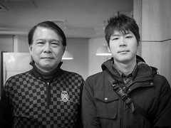 Father and Son (kasa51) Tags: portrait bw monochrome lumix panasonic pancake 20mm f17 gf1
