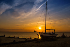 """Whitstable beach At dusk • <a style=""""font-size:0.8em;"""" href=""""http://www.flickr.com/photos/79232773@N03/8451736188/"""" target=""""_blank"""">View on Flickr</a>"""