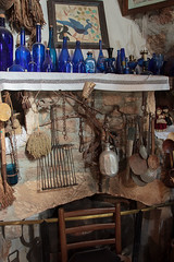 Traditional architecture (Nicolas P. Tschopp) Tags: house architecture fireplace village embroidery traditional cyprus collection copper items rare blueglass greekcypriot stonebuilt paphosdistrict androullaperendou
