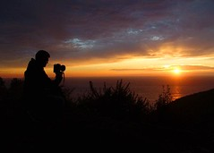 Self Portrait (AndersHolvickThomas) Tags: california sunset portrait self highway1