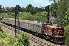 4803-4916 RTM tour Burwood Rd 25-1-05 (mugzshotz) Tags: electric diesel goodwin alco nswgr 48class dl531