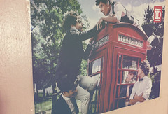 take me home! ( she's thunderstorms) Tags: uk irish love boys wall poster 1d british mybabies takemehome onedirection phonecab harrystyles louistomlinson zaynmalik liampayne niallhoran