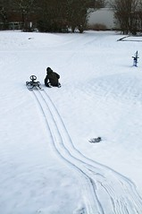 Snowracer (morberg) Tags: winter snow hill stiga olle