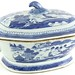 1015. Two Chinese Canton Covered Dishes - Image 1 of 2