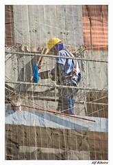 0040 - 0150 (Alf Ribeiro) Tags: cidade brazil arquitetura brasil digital pessoa gente sopaulo capital dia sp urbano prdio rede obra epi trabalho trabalhador andaime amricadosul edifcios proteo construo operrio construocivil alfribeiro