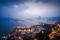 Tsing Ma Bridge -  (allasphoto) Tags: hk hongkong   tsingmabridge        rememberthatmomentlevel2   mtr