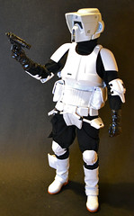 Biker Scout (Hooky1974) Tags: trooper hot scale soldier toys one star dragon action military scout story stormtrooper biker wars did sixth 16th figures modelling sideshow