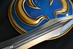 Sophitia Sword & Shield, final (Volpin) Tags: cold costume cosplay replica weapon soul sword cassandra shield resin iv copy casting prop calibur sophitia pyrrha