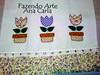 pano de prato vasinho tulipas (Ana Carla_Fazendo Arte) Tags: flores frutas galinha cupcake patchwork cozinha