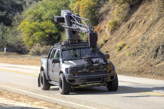 camera ford film truck pickup f150 crew raptor hollywood filming svt thesnake supercrew mulhollandhighway filmotechnic cameracarsystems