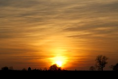 Sunset 17th February 2013 (mark_fr) Tags: york bridge sunset sea sky sun set sunrise volcano maple view market yorkshire hill north estuary vale east dust rise volcanic mere beverley humber hornsea weighton beeford lissett molescroft
