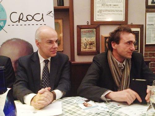 """Edoardo Croci con Stefano Dambruoso all'incontro-dibattito """"Milano verso l'EXPO: le sfide della legalità e dell'ecocompatibilità"""""""
