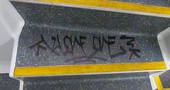 Klone - Sydney - 2013 (Eddie Haskel's Sydney Graffiti Flicks) Tags: train graffiti tag sydney rail nsw vandalism newsouthwales klone insides cityrail handstyle 2013 mmxiii