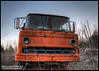 why the long face (steve_southerland) Tags: ford abandoned truck hdr cabover