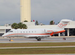 N497EC Challenger CL300 (GSairpics) Tags: travel plane private airplane flying airport aircraft aviation transport flight jet aeroplane business biz executive exec bizjet execjet gsairpics