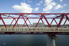 Steel Bridge along JR Tokaido Line (Chronovial) Tags: bridge japan  shinkansen tokaido anpachi