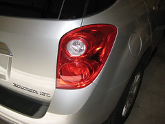 2012 GM Chevrolet Equinox Tail Light - Changing Brake, Turn Signal, Reverse, Side Marker Bulbs (Paul Miguels) Tags: light chevrolet turn fix out diy gm do general side parking tail rear steps it motors 2nd number part chevy burnt swap second marker change bulbs instructions brake how guide reverse signal yourself generation equinox 2012 2010 2011 sidemarker 2013