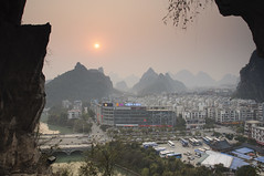 Guilin Dusk 1 (stevec77) Tags: china city dusk guilin vista cave diecai diecaishen