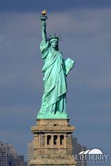 The Statue of Liberty (Seth Berry Photography) Tags: new york city nyc newyorkcity winter sunlight ny newyork water statue ferry river liberty island hudson statenisland staten