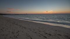 Beach (jmhuttun) Tags: sunset beach nikon dubai uae burjalarab unitedarabemirates d800