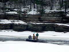 Can't wait for spring on the Wisconsin River (Dan Small Outdoors) Tags: wisconsinriver coldwater boatingsafety wisconsindnr dansmall outdoorsradio