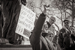 Solidarity Sing Along Madison, Wisconsin 3/7/13. (depthandtime) Tags: