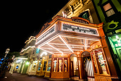 Main Street Cinema - Magic Kingdom (Explored) (Adam Hansen) Tags: orlando nikon florida disney adobe wdw waltdisneyworld magickingdom lightroom mainstreetusa d90 disneyvacation disneyphotography