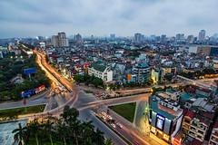 vl_00792 (Hanoi's Panorama & Skyline Gallery) Tags: street light sky panorama building tower architecture skyscraper canon asia skylines vietnam hanoi nigh việtnam nighlight hànội kissx