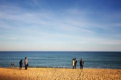 (dissolved_boy) Tags: barcelona travel sea beach canon spain sand catalonia catalunya themediterraneansea 5dmk3