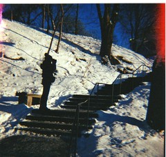 (Danni Rossi) Tags: winter snow 120 analog lomography sweden stockholm neve sucia