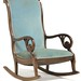 115. Victorian Scroll Arm Rocker