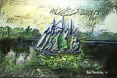 The Green Sea_RobH (rob.hendriks) Tags: sculpture abstract art illustration digital computer painting 3d visualarts arts creative relief fantasy visual reliefs painter12