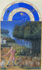 November (petrus.agricola) Tags: les de berry medieval muse illuminated chateau manuscript trs duc chantilly frres riches heures cond limbourg