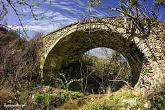 Pythio (kzappaster) Tags: bridge samsung fisheye greece 8mm larissa elassona stonebridge nx thessaly samyang nx100 pythio 8mmf28 samsungnx samsungnx100 samyang8mmf28umcfisheye