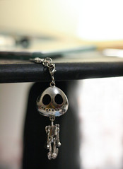 Until the End (the snow bunny) Tags: skeleton death skull jewelry charm symbolism