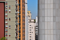 Buildings Sao Paulo ([visual media]) Tags: blue windows brazil sky brasil buildings concrete saopaulo roofs jungle highrise paulo sao