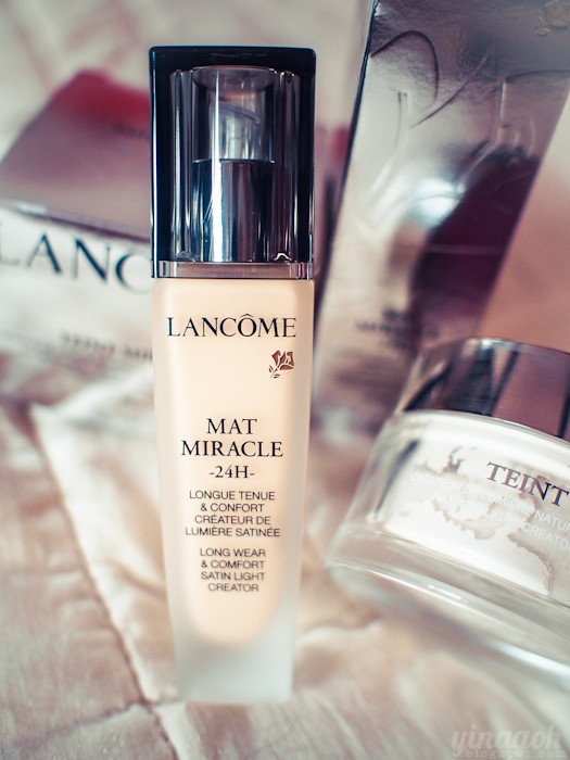 Review: Lancome Mat Miracle 24H Liquid Foundation