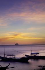 Fiery (ramcoke) Tags: ocean sunset sea seascape water beautiful clouds island boat long exposure getaway philippines wide anilao batangas 1740mm breathtaking pilipinas hideaway sunsey sescape