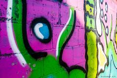 streetart colours (KLAVIeNERI) Tags: pink streetart green graffiti colours photographer streetshots dusseldorf leicaforum leicax1 leicaimages lightroom4 ilovemyleica photographersontumblr