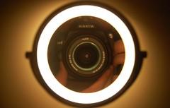 Halo () Tags: reflection night mirror nikon focus halo