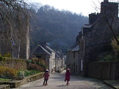 Scooting through Lhon (Concorps) Tags: morning france children nice brittany bretagne scooter cotes dinan darmor 2013 lhon