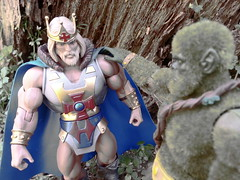 """Never before have I called a man King"" (Barbecue17) Tags: motu heman mastersoftheuniverse castlegrayskull matteltoys motuc flickrandroidapp:filter=none kingheman"