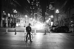 cycliste (sparth) Tags: leica blackandwhite bw night evening blackwhite nightshot noiretblanc nb cycliste noirblanc m9 2013 leicam9