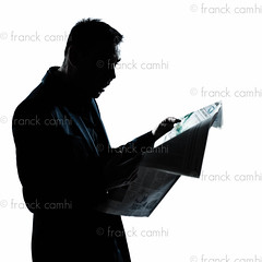 silhouette man portrait reading newspaper surprised (Franck Camhi) Tags: portrait people white news man france male silhouette businessman cutout magazine person reading one 1 newspaper holding profile style business suit whitebackground mature surprise surprised studioshot elegant press sideview executive isolated oneperson amazed shocked stylish elegance caucasian oneman 40years
